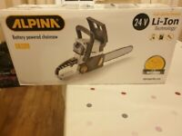 Alpina 24v Chain Saw