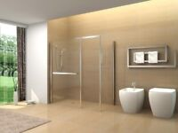 Shower screens. Wet room panels. Delivery £20.