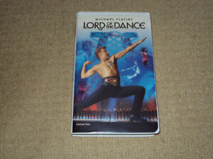 MICHAEL FLATLEY LORD OF THE DANCE, VHS MOVIE EXCELLENT CONDITION