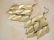 Chandelier Dangle Earrings Gold