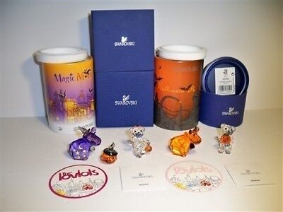SWAROVSKI SET HALLOWEEN MO & MAGIC MO + A PUMPKIN FOR YOU & HALLOWEEN KRIS BEARS](Halloween Mo)