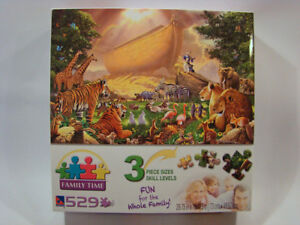The Gathering Noah's Ark  529 Piece Puzzle for the whole family