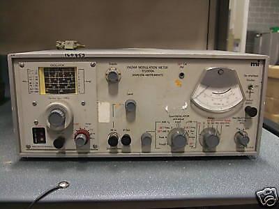 Fmam Modulation Meter Model Tf2300a