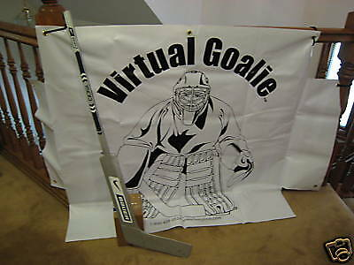 2 Virtual Goalie Stop  Targets   NO STICK INCLUDED