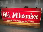 Old Lighted Sign