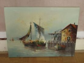 OIL PAINTING WITHOUT A FRAME