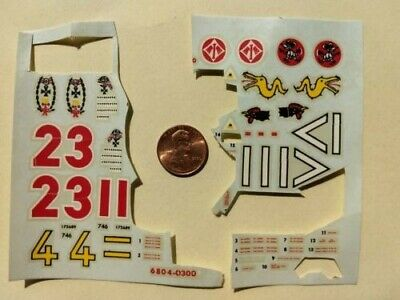 Vintage 70's DECALS (partial) for Monogram FW 190 Focke-Wulf Fighter 1/48 Scale for sale  Normal
