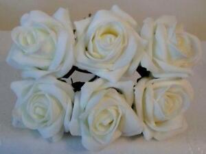 Foam roses home furniture diy ebay ivory foam roses mightylinksfo