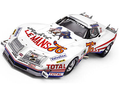 1976 CHEVROLET CORVETTE #76 JOHN GREENWOOD SPIRIT OF LEMANS 1/18 BY TSM 111810R