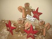 Primitive Christmas Ornies
