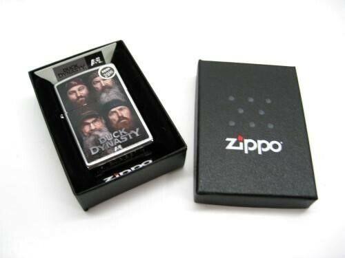 Zippo 28881 Full Size Duck Dynasty Robertson Family Members Windproof Lighter