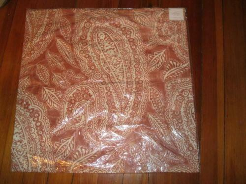 Pottery Barn Pillow Cover Red Ebay