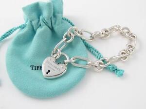 Tiffany Heart Lock Bracelet