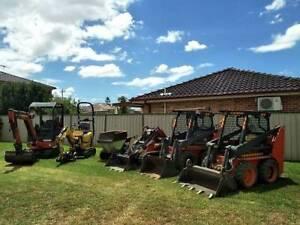 Bobcat/Excavator/Dingo hire tight/difficult access excavation