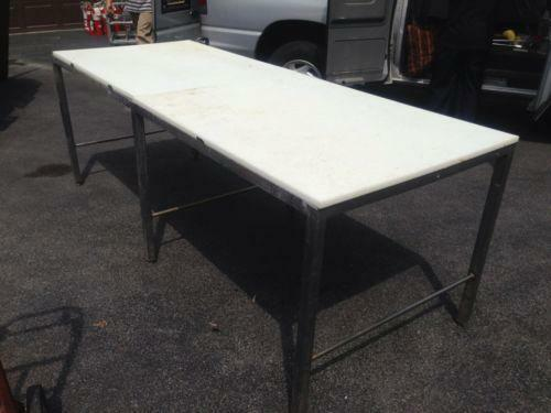 Stainless Steel Butcher Table Ebay