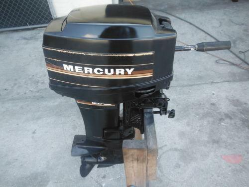Buy 15 Hp Outboard Motor 1995 Johnson Evinrude Outboard
