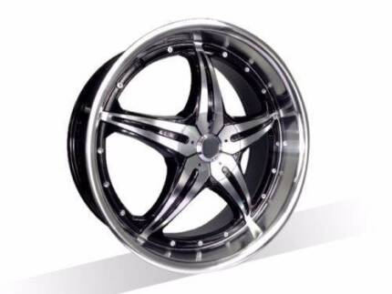 1X18 INCH New Wheels suits Commodore,Falcon,BMW3,FREE DELIVERY