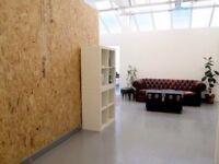 BRIGHT 180 sqft SEMI PRIVATE STUDIO SPACE, WORKSHOP. £500 pcm All Inc