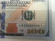 100 Dollar Bill Star Note