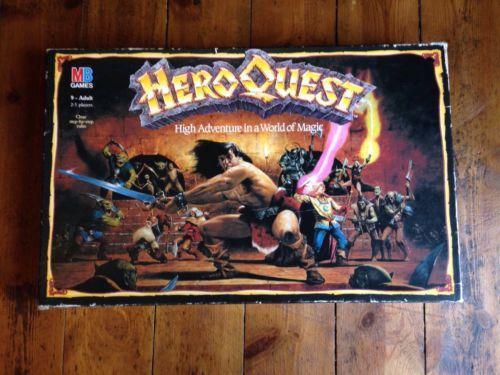 Heroquest Contents List
