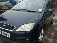 Ford Focus C-MAX 1.8 2004MY Zetec full service history 12 months mot