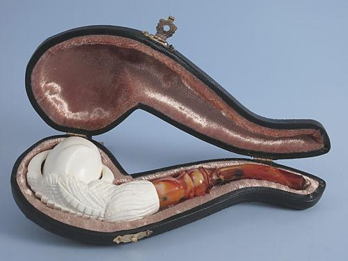 how to clean a meerschaum pipe