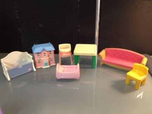 Little Tikes Dollhouse Furniture Ebay