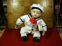 Yolanda Bello Matthew porcelain sailor boy doll, by Ashton Drake