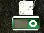 iPod Nano 4th Generation Green