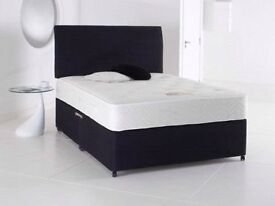 Order Today Deliver Today Possible Double 4ft6 Bed & Memoryfoam Mattreess BRANDNEW Huge Savings
