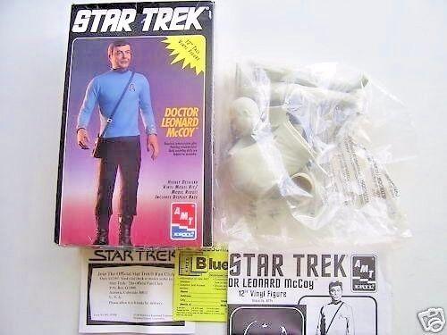 Vintage Star Trek Doctor Leonard McCoy Model Kit