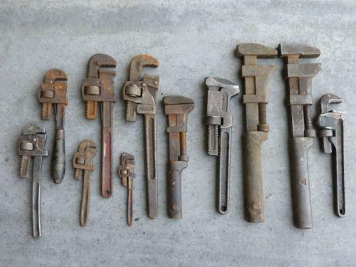 Old Pipe Wrench Ebay