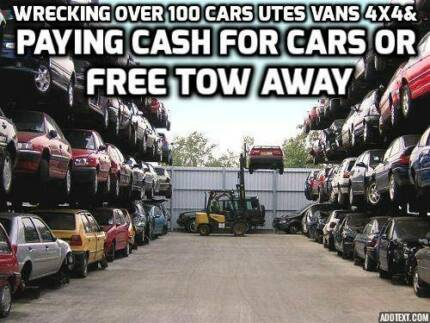 wrecking over 100 cars utes vans 4x4 Bankstown Bankstown Area Preview