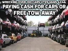 wrecking over 100 cars utes vans 4x4 Bankstown Bankstown Area Preview