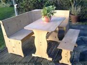 Corner Table Bench