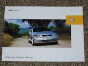 Opel Astra G Handbuch