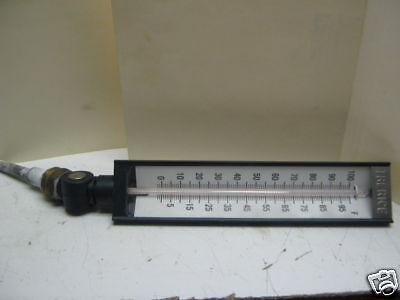 (TRERICE 0-100 F ADJUSTABLE ANGLE INDUSTRIAL THERMOMETER)