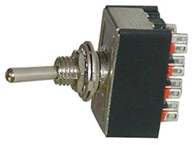 One Miniature Dpdt Toggle Switche 2 Position On-on 16077