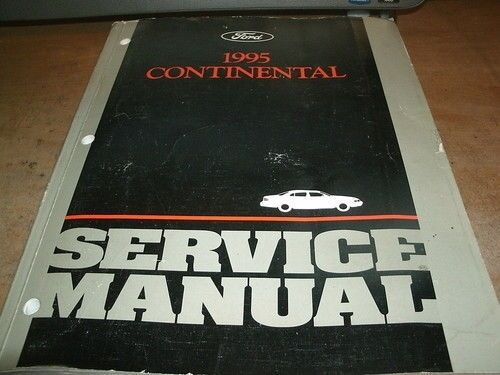1995 LINCOLN CONTINENTAL FACTORY FORD SHOP SERVICE MANUAL COMPLETE OEM