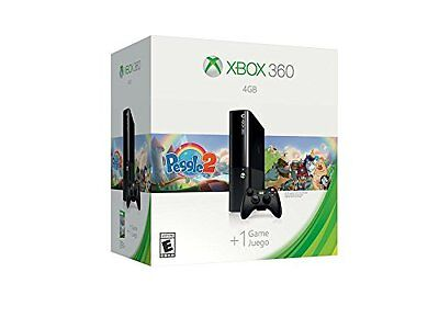 Microsoft Xbox 360 4GB Console with Peggle 2 Bundle Brand NEW