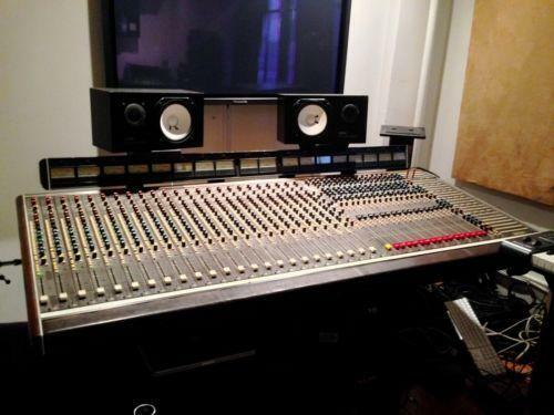 analog mixing console live studio mixers ebay. Black Bedroom Furniture Sets. Home Design Ideas