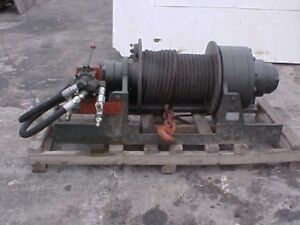 WINCH WANTED HYDRAULIC IN WORKING ORDER LIKE IN PIC