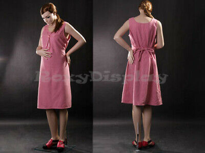 Maternity Pretty Face Elegant Pose Mannequin Dress Form Display Mz-yf1