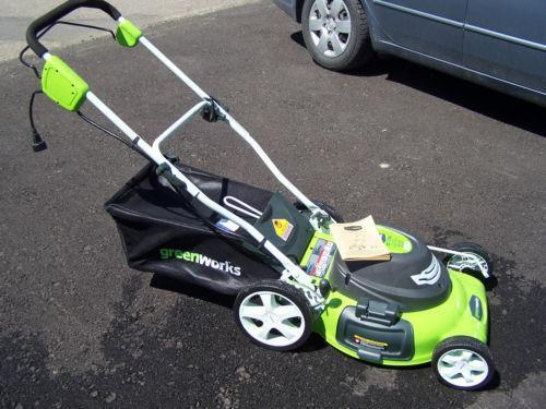 Used Electric Lawn Mower Ebay
