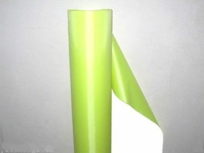 3 Wide Fluorescent Yellow Reflective Fabric Sew Material 3x20 M1030 Ql