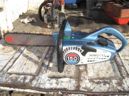 Homelite 150 Automatic Chainsaw Ebay