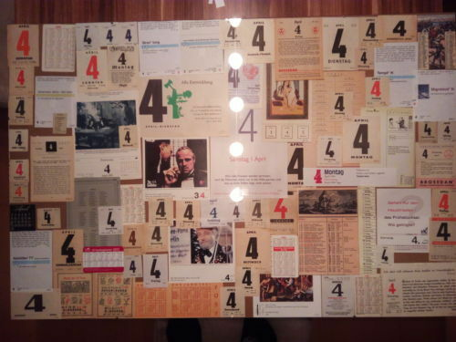 Kalenderblatt-Shop