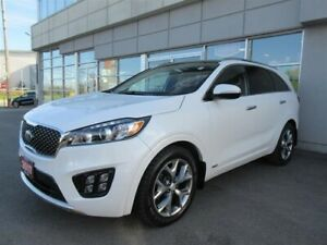 2017 Kia Sorento SX 7 seater 3.3L SX/Leather/Roof/NAV/Camera