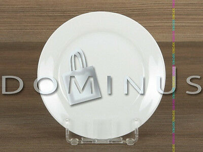 31066 Domotti Basic PORZELLAN Dessertteller Kuchenteller Weiß Ø 19 cm