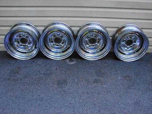 Chrome Reverse Wheels Ebay